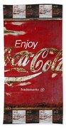Coca Cola Signs Beach Towel