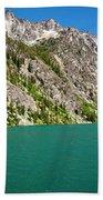 Colchuck Lake, Alpine Lakes Wilderness Beach Towel
