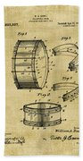 Collapsible Drum Patent 008 Beach Towel