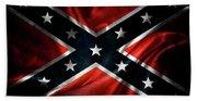 Confederate Flag 1 Beach Sheet