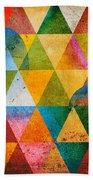 Contemporary Beach Towel by Mark Ashkenazi