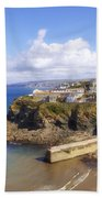 Cornwall - Port Isaac Beach Towel