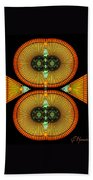 Cosmic Mitosis Beach Towel