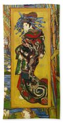Courtesan  Beach Towel