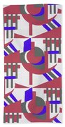 Design From Nouvelles Compositions Decoratives Beach Towel