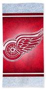 Detroit Red Wings Beach Towel