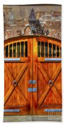 Doors Of Charleston Beach Towel