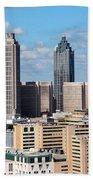 Downtown Atlanta Beach Towel