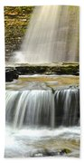 Eagle Cliff Falls Beach Towel