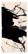 Eagles Along The Mississippi Beach Towel