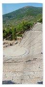 Epidaurus, Argolis, Peloponnese Beach Towel