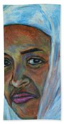 Ethiopian Lady Beach Towel