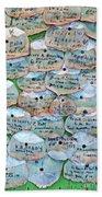 Extinction Wall Beach Towel