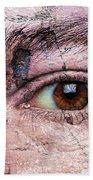 Eye On Environment Beach Towel