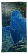 Fantastic Landscape Beach Towel by Augusta Stylianou