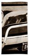 Fiat 500 L Front End Beach Towel
