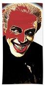 Film Homage Conrad Veidt The Man Who Laughs 1928-2013 Beach Towel