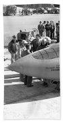 First Supersonic Aircraft, Bell X-1 Beach Towel