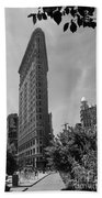 Flatiron Building Manhattan  Beach Towel