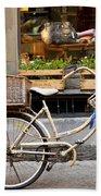 Florence Bicycle  Beach Towel