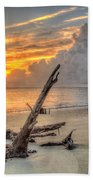 Folly Beach Driftwood Beach Towel