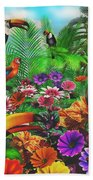 Forest Friends Beach Towel