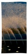 Fountain 2 Beach Towel