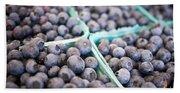 Fresh Blueberries Beach Towel