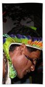 Fulnio Indians Of Brazil  Beach Towel