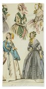 Godey's Lady's Book, 1842 Beach Towel