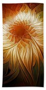 Golden Glory Beach Towel