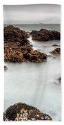 Grey Morning Beach Towel