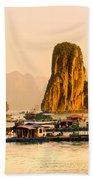 Halong Bay - Vietnam Beach Towel
