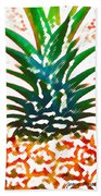 Hawaiian Pineapple Beach Sheet