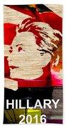 Hillary Clinton 2016 Beach Towel