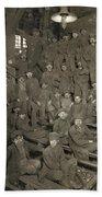 Hine Breaker Boys, 1911 Beach Towel