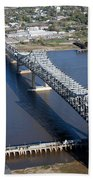 Horace Wilkinson Bridge Beach Towel