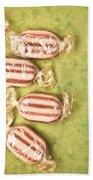 Humbug Sweets  Beach Towel by Tom Gowanlock