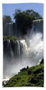 Iguassu Falls Beach Towel