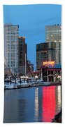 Inner Harbor Beach Towel