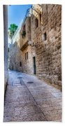 Jerusalem Street Beach Towel