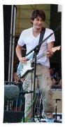 John Mayer And Robbie Mcintosh  Taste Of Chicago Beach Towel