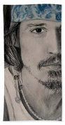 Depp Beach Towel