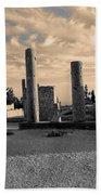 Kourion-temple Of Apollo Beach Towel