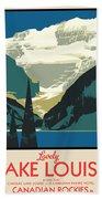 Lake Louise Beach Sheet