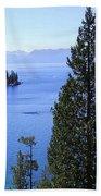 Lake Tahoe 4 Beach Towel
