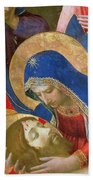 Lamentation Over The Dead Christ Beach Towel