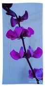 Lavender Flowers Beach Towel