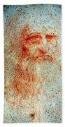 Leonardo Da Vinci (1452-1519) Beach Towel