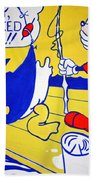 Lichtenstein's Look Mickey Beach Towel